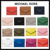 Michael Kors Plain Folding Wallets