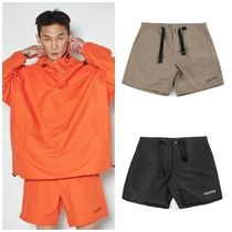 I AM NOT A HUMAN BEING Street Style Cotton Shorts