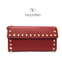 VALENTINO Leather Long Wallets
