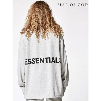 FEAR OF GOD Long Sleeve Crew Neck Street Style Long Sleeves Cotton Oversized 7