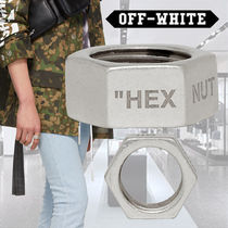 Off-White Metal Rings