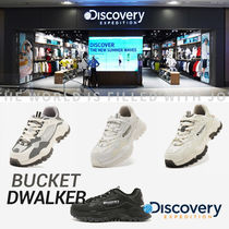 Discovery EXPEDITION Casual Style Unisex Street Style Low-Top Sneakers