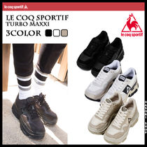 le coq sportif Unisex Street Style Leather Sneakers