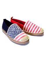 Ralph Lauren Stripes Star Unisex Loafers & Slip-ons