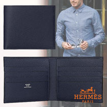 HERMES Leather Folding Wallets