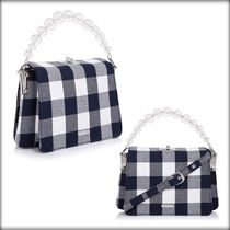 SKINNYDIP Gingham Casual Style 2WAY Shoulder Bags