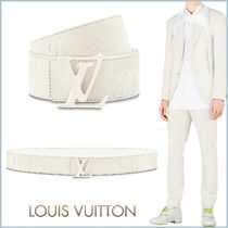 Louis Vuitton TAURILLON Monogram Blended Fabrics Street Style Plain Leather