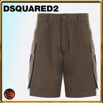 D SQUARED2 Cotton Cargo Shorts