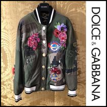 Dolce & Gabbana Flower Patterns Camouflage Street Style Medium
