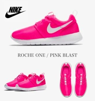 check out f28f3 9af1f Nike ROSHE ONE Unisex Petit Street Style Kids Girl Sneakers (599729-611)