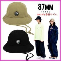 87MM Unisex Street Style Bucket Hats Wide-brimmed Hats