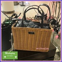 kate spade new york Straw Bags