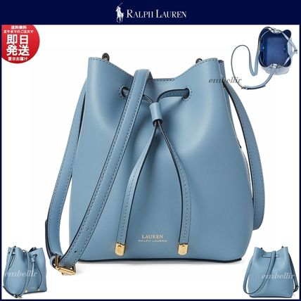 Plain Leather Purses Elegant Style Shoulder Bags