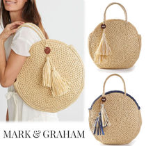 marc AND graham Straw Bags