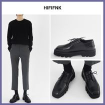 Unisex Street Style Plain Oxfords