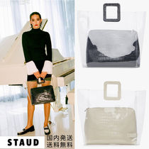 STAUD Bag in Bag Other Animal Patterns Crystal Clear Bags