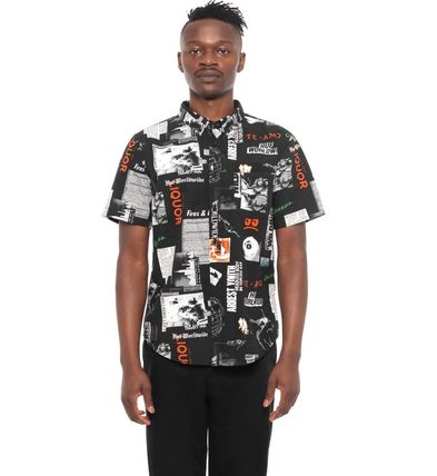 HUF Shirts Street Style Short Sleeves Shirts 6