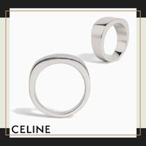 CELINE Plain Silver Rings