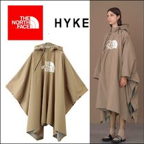 THE NORTH FACE Unisex Street Style Plain Long Oversized Ponchos & Capes
