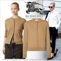 Burberry Monogram Cashmere Long Sleeves Cashmere