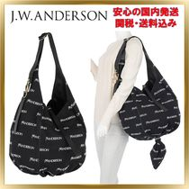 J W ANDERSON A4 Leather Elegant Style Handbags