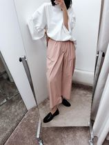 MM6 Maison Margiela Plain Long Cropped & Capris Pants