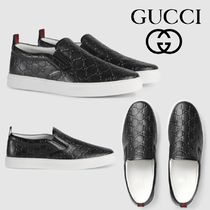 GUCCI Leather Loafers & Slip-ons