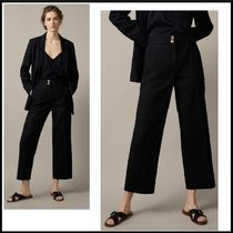 Massimo Dutti Casual Style Linen Plain Culottes & Gaucho Pants