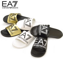 EMPORIO ARMANI Shower Shoes PVC Clothing Shower Sandals