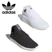 adidas Casual Style Unisex Collaboration Plain Low-Top Sneakers