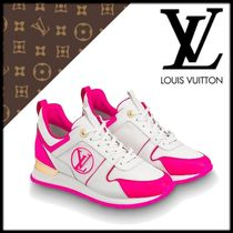 Louis Vuitton Street Style Leather Low-Top Sneakers