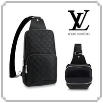 Louis Vuitton DAMIER INFINI Other Check Patterns Leather Bags