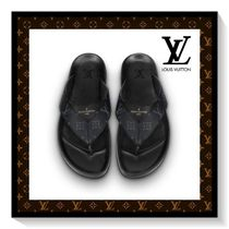 Louis Vuitton Monogram Blended Fabrics Sandals