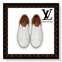 Louis Vuitton Monogram Blended Fabrics Leather Sneakers