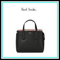 Paul Smith Casual Style Blended Fabrics 2WAY Leather Home Party Ideas