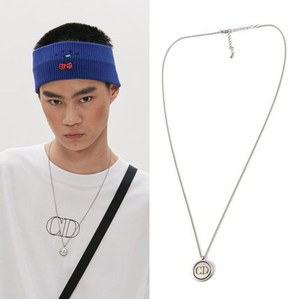 Unisex Coin Street Style Chain Necklaces & Pendants