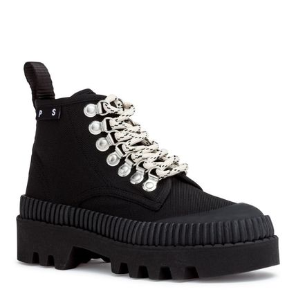 Mountain Boots Round Toe Rubber Sole Outdoor Boots