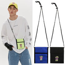 A PIECE OF CAKE Unisex Nylon Street Style 2WAY Shoulder Bags