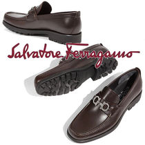 Salvatore Ferragamo Loafers Plain Leather Loafers & Slip-ons