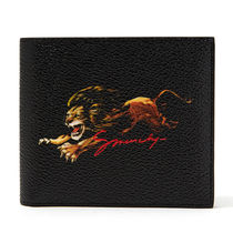 GIVENCHY Faux Fur Plain Other Animal Patterns Folding Wallets