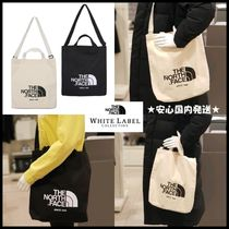 THE NORTH FACE WHITE LABEL Unisex Street Style 2WAY Totes