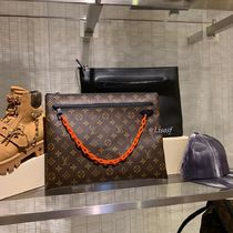 Louis Vuitton MONOGRAM Monogram Canvas Blended Fabrics Street Style Bag in Bag