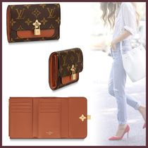 Louis Vuitton MONOGRAM Monogram Canvas Blended Fabrics Bi-color Small Wallet