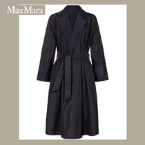 MaxMara Long Elegant Style Trench Coats