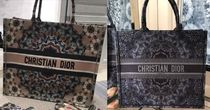 Christian Dior Casual Style Tie-dye A4 2WAY Totes