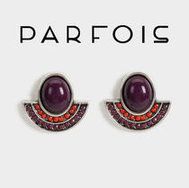 PARFOIS Casual Style Bold Earrings & Piercings