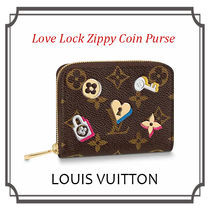 Louis Vuitton ZIPPY COIN PURSE Monogram Leather Folding Wallets