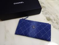 CHANEL ICON Unisex Long Wallets