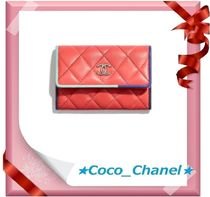 CHANEL ICON Leather Card Holders