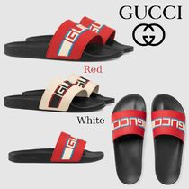 GUCCI Stripes Sport Sandals Sports Sandals